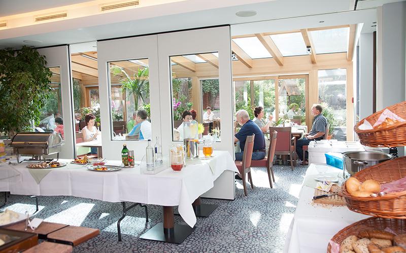 Frühstücksraum vom AKZENT Hotel Kaliebe auf Usedom (Trassenheide)
