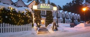 AKZENT Hotel Kaliebe auf Usedom im Winter (Trassenheide)