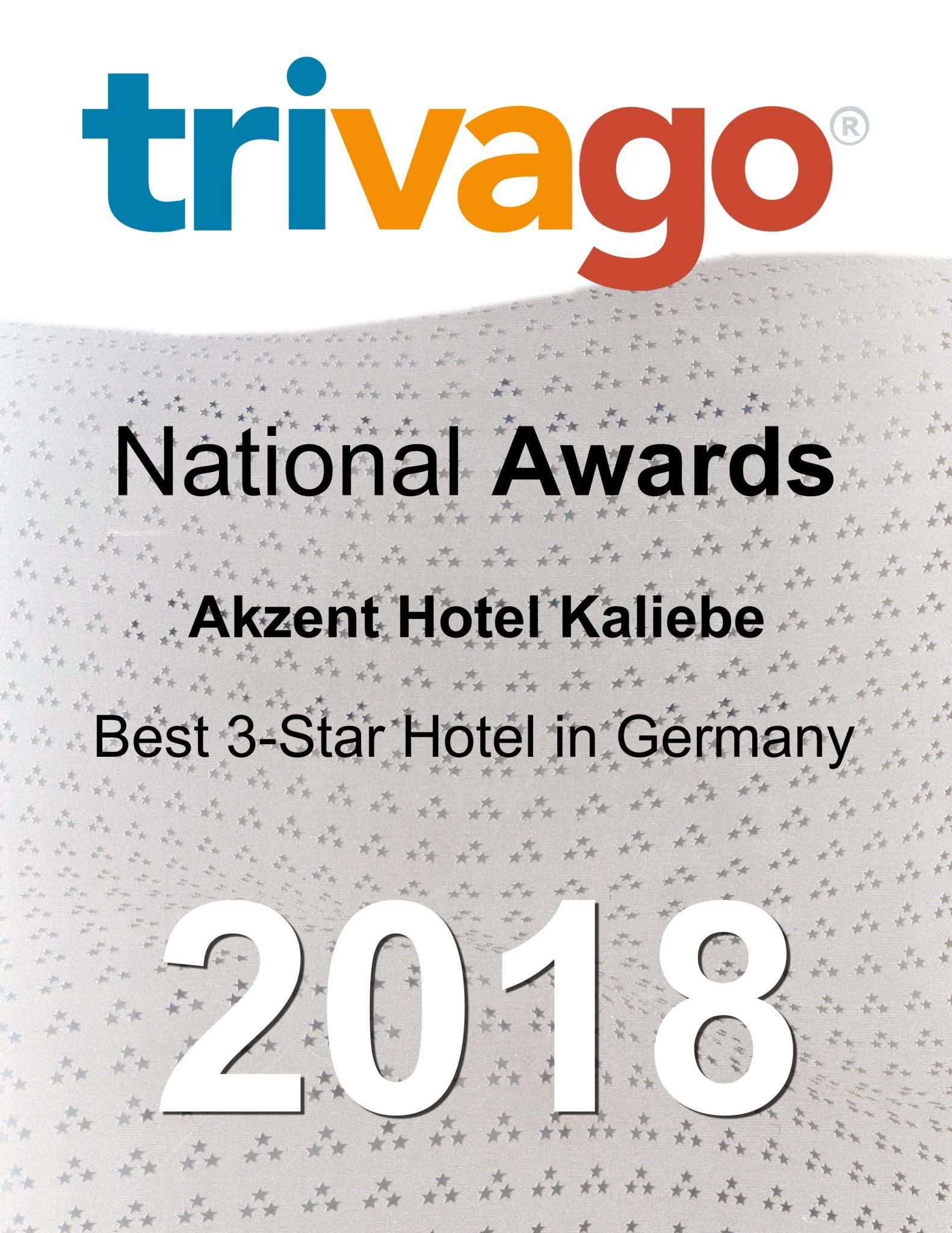 Wir sind Gewinner des Trivago Awards 2018!