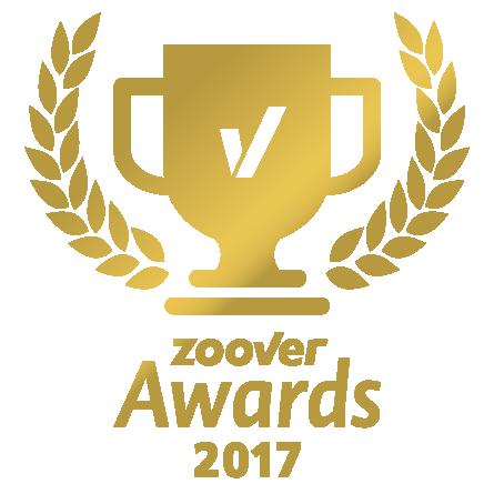 Wir sind Gewinner des Zoover gold Awards
