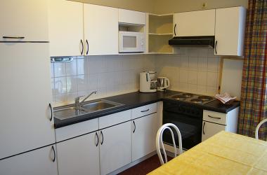 Küche in unserer Ferienwohnung