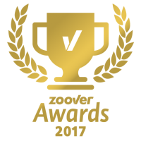 Wir sind Gewinner des Zoover gold Awards