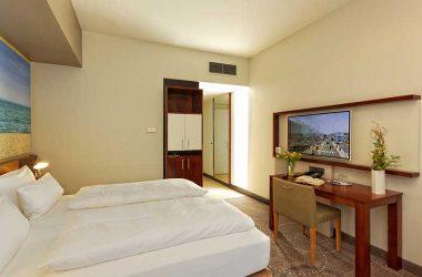 Doppelzimmer Komfort Ecke
